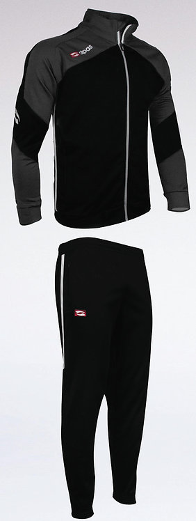 DYNAMIC Training Tracksuit Black/Grey/White