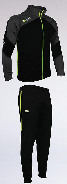 DYNAMIC Training Tracksuit Black/Grey/Lime