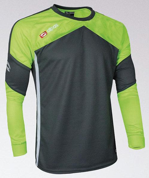 DYNAMIC Goalkeeper Shirt Grey/Lime Green