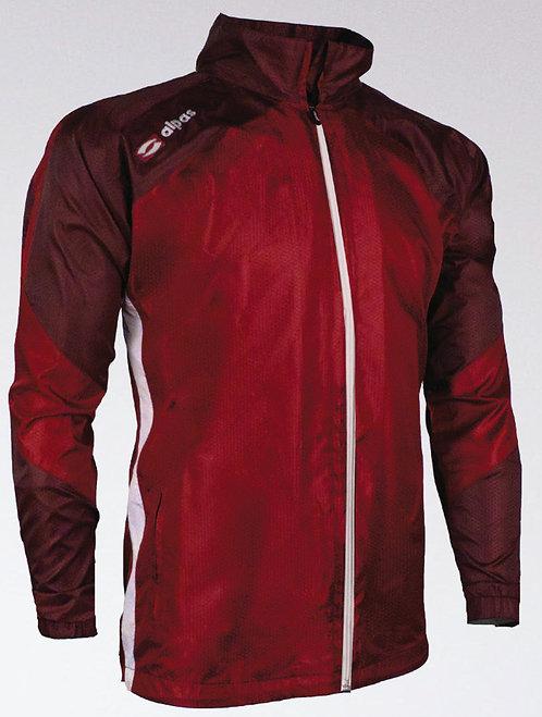 DYNAMIC Rain Jacket Red/Burgundy/White