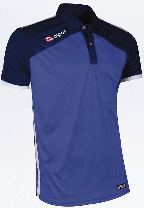DYNAMIC Polo Shirt Blue/Navy/White