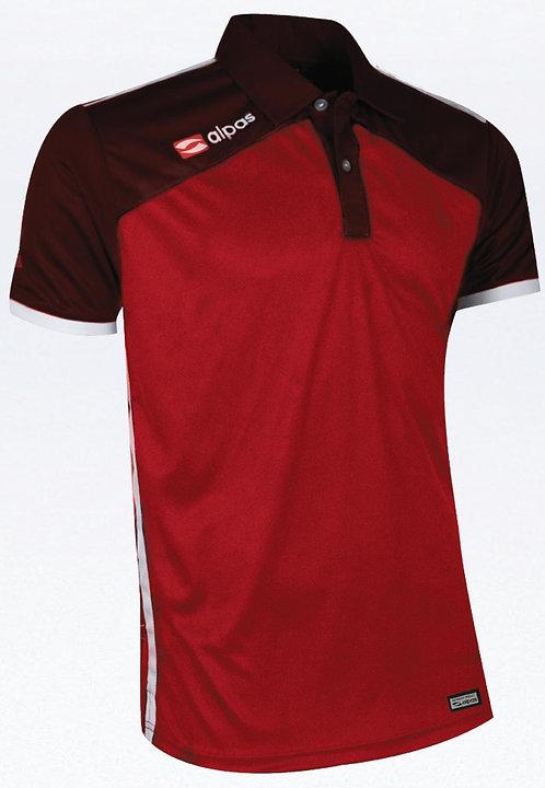DYNAMIC Polo Shirt Red/Burgundy