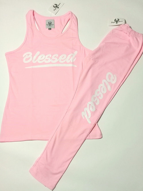 """""""Blessed Virtuous Woman"""" Workout Suit"""