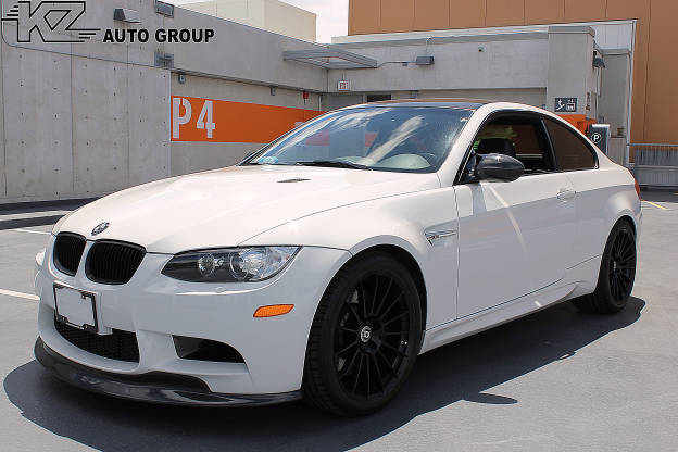E92 BMW M3 with HRE FF15 Flor Form Wheels