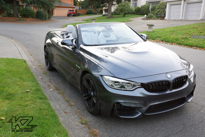 BMW M4 Carbiolet x IND Cosmetic Parts