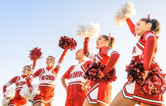 Now- cheerleaders wanted