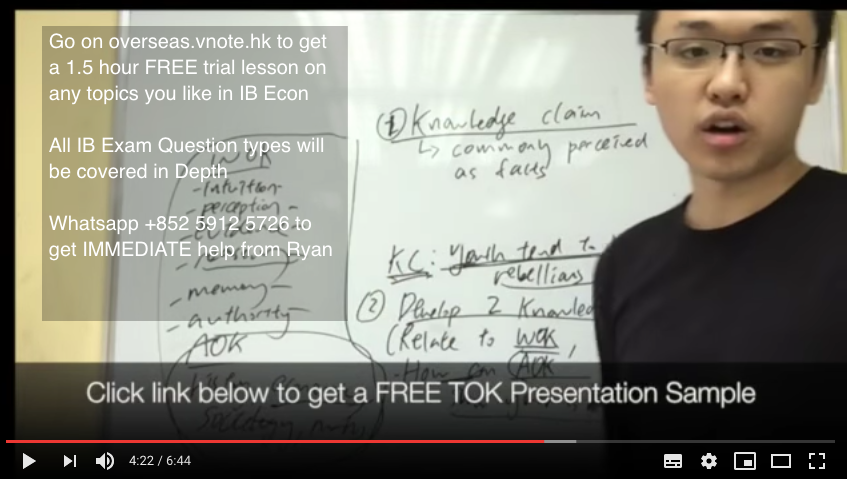 Introduction to the TOK and how IB tuition can help