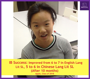 hkexcel IB student