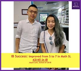 IB tutor success