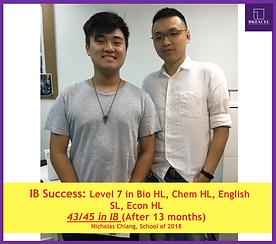 IB Chemistry student