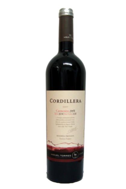 TORRES CORDILLERA CARMENERE