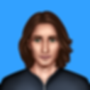 The PNG image of Will, a character in Time Travel Love Story Game. He has green eye and long hair.