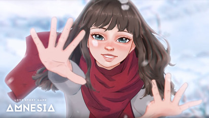 In the Snow with Hands in the Air