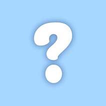 A PNG image of a question mark which substitutes a picture of a character in Wizard Love Story