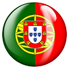 PNG image of the flag of Portugal in a glossy circle