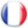 PNG image of the flag of France in a glossy circle