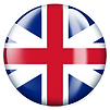 PNG image of the flag of the UK in a glossy circle