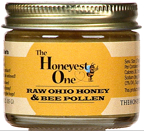 Bee Pollen Infused Honey