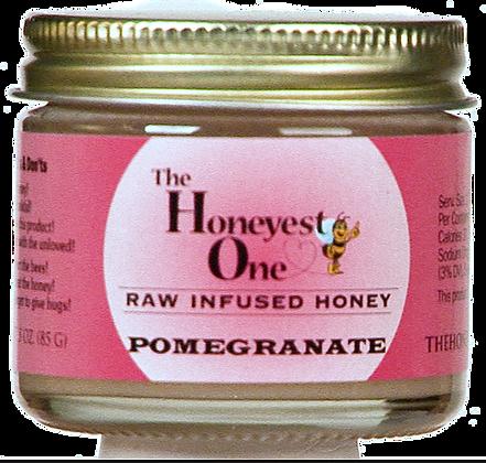 Pomegranate Infused Honey