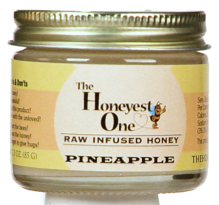 Pineapple Infused Honey