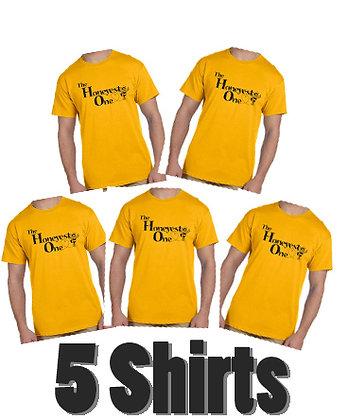Bee Shirt - 5 Shirts