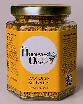 Raw Bee Pollen 6 oz. Jar