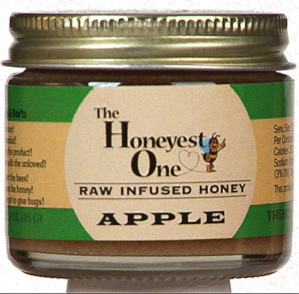 Apple Infused Honey