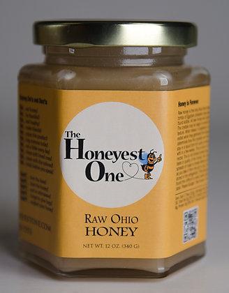12 oz. Raw Ohio Honey