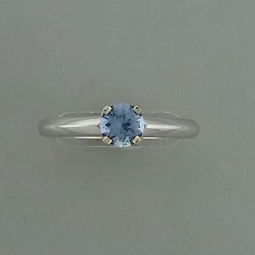 ring white by pin diamond gold ice cushion to halo sapphire pristinejewelry blue engagement