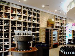 חנות יין ושוקולד