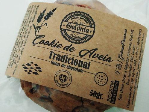 6 Cookies de Aveia Tradicional