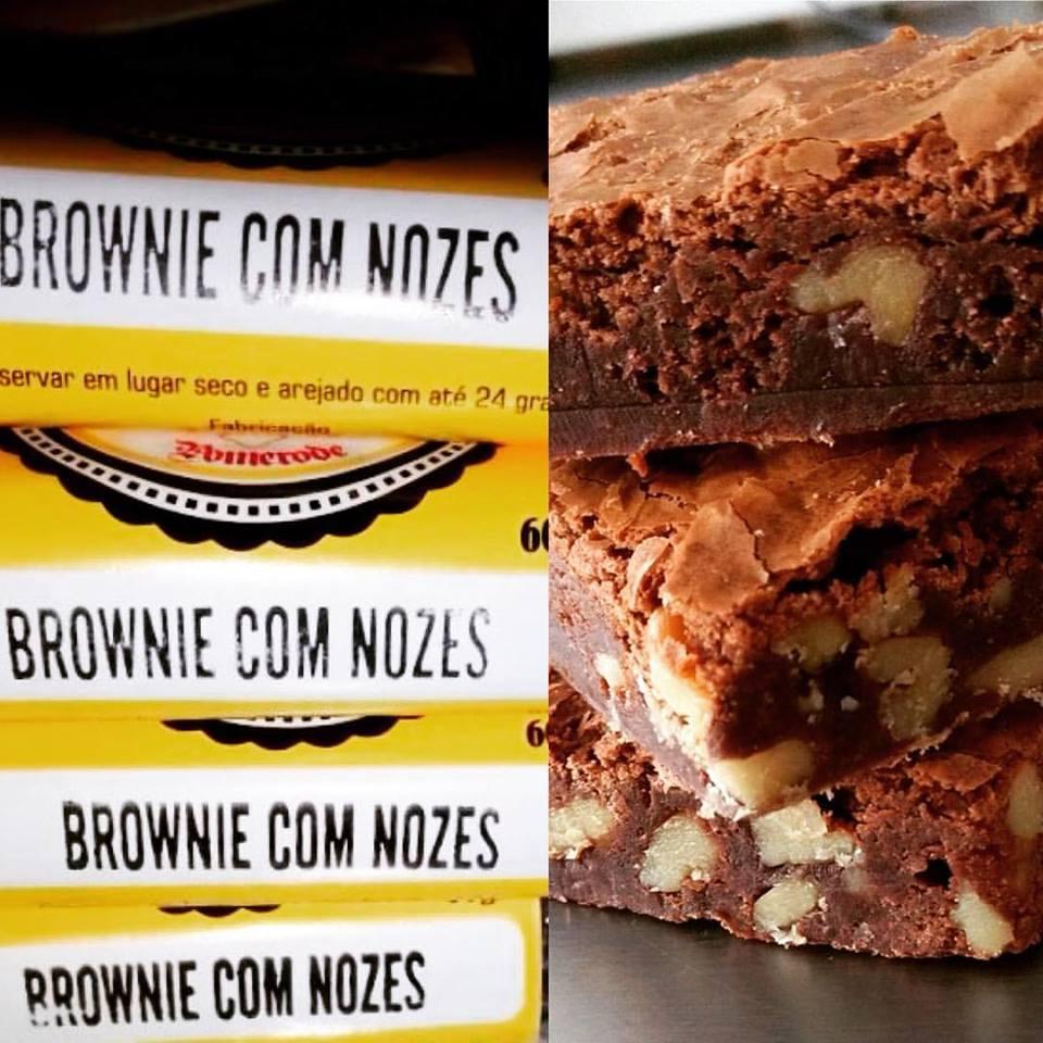 Brownie com nozes