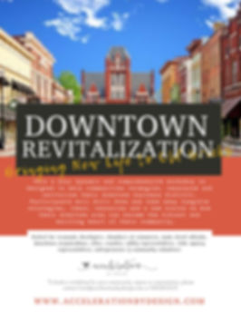 Downtown Revitalization Workshop Brochur