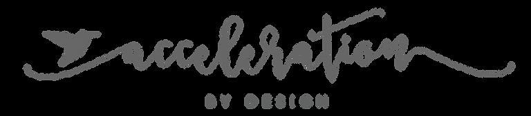 Acceleration by design LLC logo