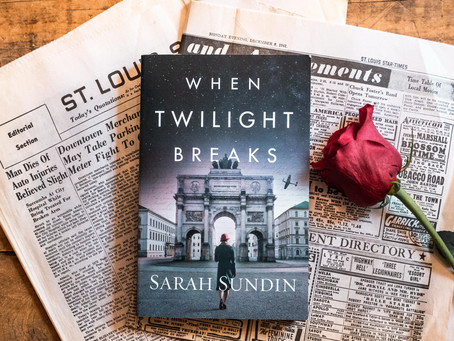 When Twilight Breaks by Sarah Sundin (Highly Recommend)