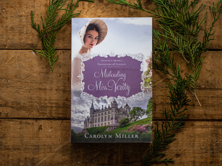 Misleading Miss Verity (Daughters of Aynsley 3) | BLOG TOUR