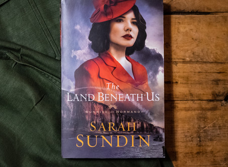 The Land Beneath Us (Sunrise at Normandy 3) | From My Bookshelf Review