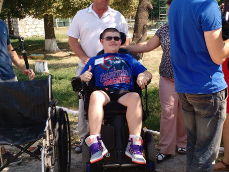 Freedom Chairs Goes International with Mobility Donations in Russia