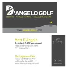 D'Angelo Golf Business Card