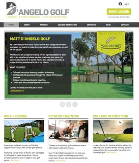 D'Angelo Golf Website