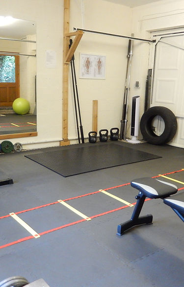 Private gm for personal training clients of Home Fit and Healthy