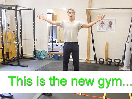 This Is The New Gym!
