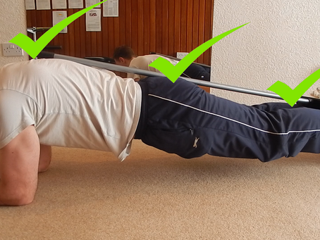 One Tip for a Perfect Plank