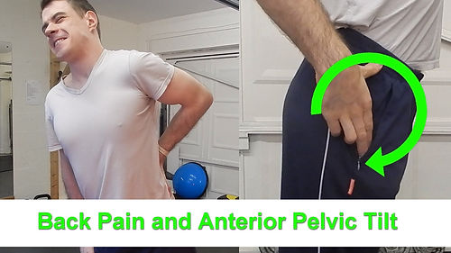 Sutton Coldfield personal trainer back pain blog post link