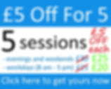 £5 Off For 5 Offer £30 & £25 prices.jpg