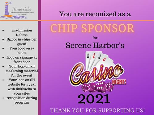 Casino Night 2021 -CHIP SPONSOR