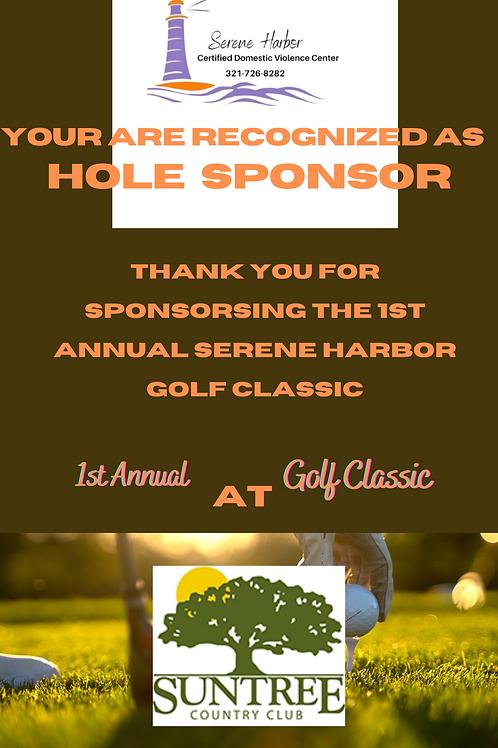 Golf Classic 2021 - Hole Sponsor