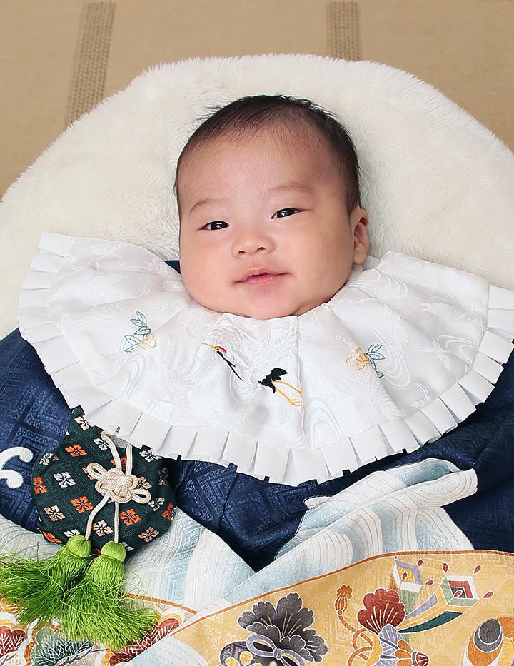 赤ちゃんのお着物姿