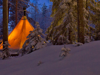 Glamping Arctic Style