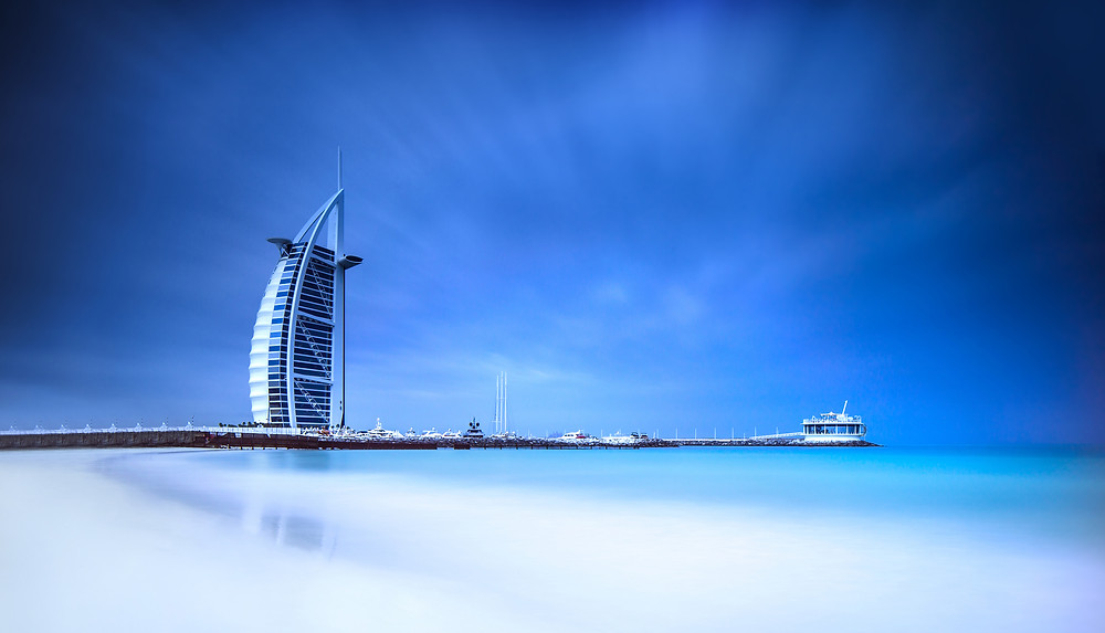 Dubai the awesome Burj Al Arab